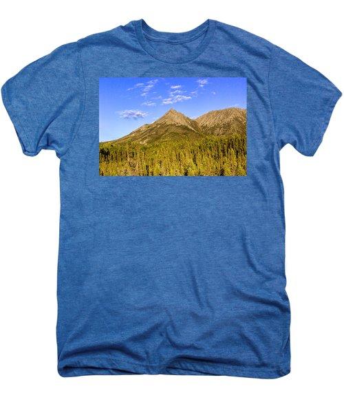 Alaska Mountains Men's Premium T-Shirt