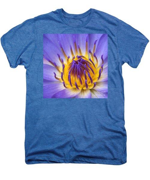 The Lotus Flower Men's Premium T-Shirt by Sharon Mau