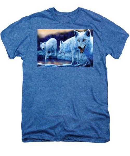 Arctic White Wolves Men's Premium T-Shirt