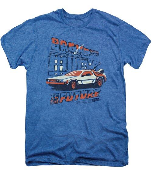 Back To The Future - Lightning Strikes Men's Premium T-Shirt