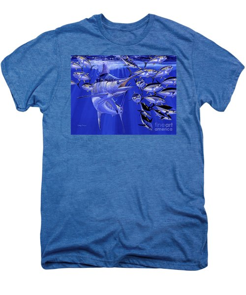 Blue Marlin Round Up Off0031 Men's Premium T-Shirt
