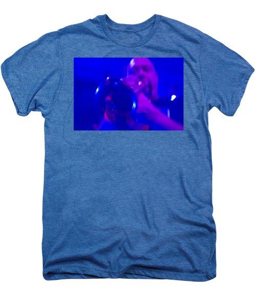 Men's Premium T-Shirt featuring the photograph Blue Mood by Alex Lapidus