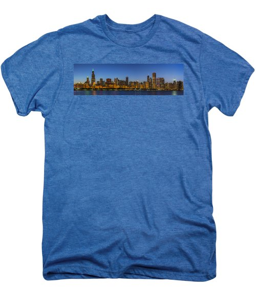 Men's Premium T-Shirt featuring the photograph Clear Blue Sky by Sebastian Musial