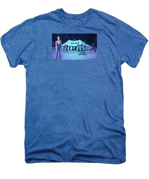 Men's Premium T-Shirt featuring the photograph Clown Tent by Nareeta Martin