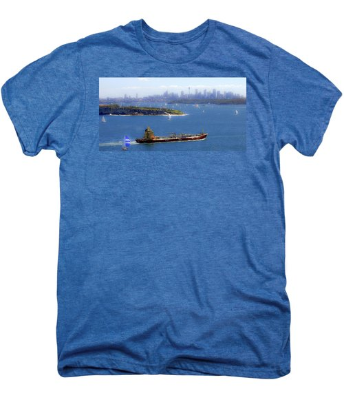 Men's Premium T-Shirt featuring the photograph Coming In by Miroslava Jurcik