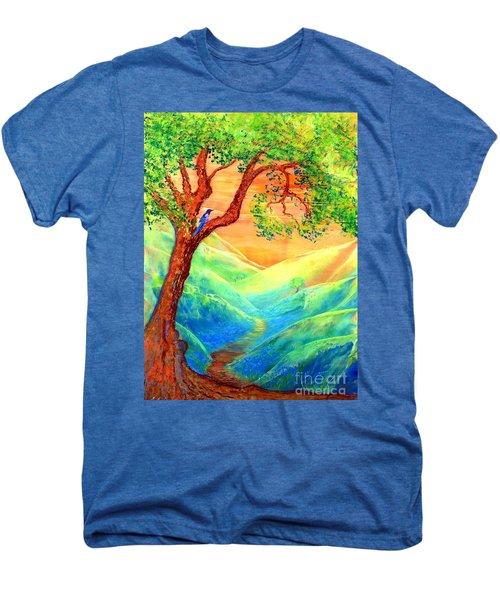 Dreaming Of Bluebells Men's Premium T-Shirt