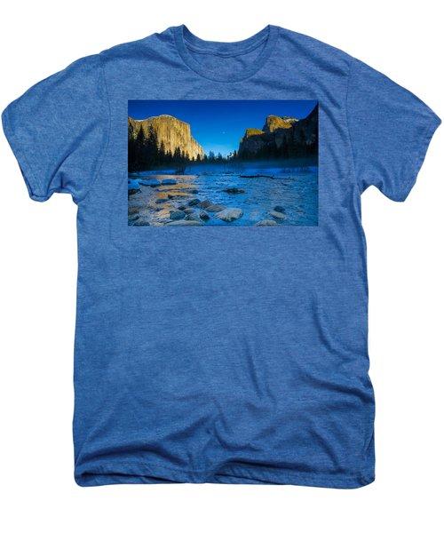 El Capitan And Half Dome Men's Premium T-Shirt