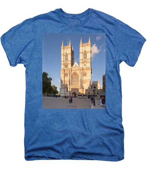 Facade Of A Cathedral, Westminster Men's Premium T-Shirt