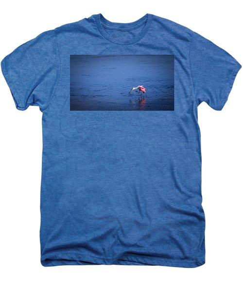 Happy Spoonbill Men's Premium T-Shirt
