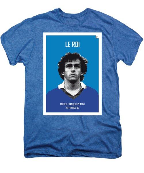 My Platini Soccer Legend Poster Men's Premium T-Shirt by Chungkong Art