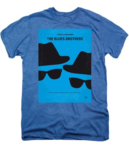 No012 My Blues Brother Minimal Movie Poster Men's Premium T-Shirt