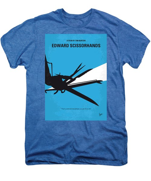 No260 My Scissorhands Minimal Movie Poster Men's Premium T-Shirt by Chungkong Art