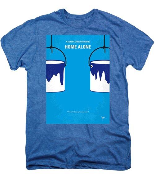 No427 My Home Alone Minimal Movie Poster Men's Premium T-Shirt