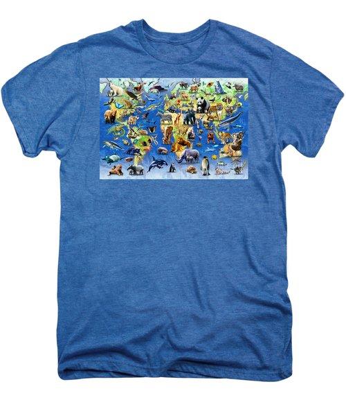 One Hundred Endangered Species Men's Premium T-Shirt
