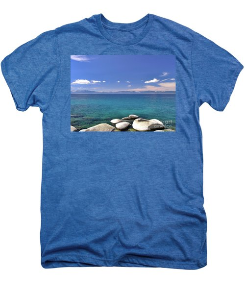 Peace - Lake Tahoe Men's Premium T-Shirt