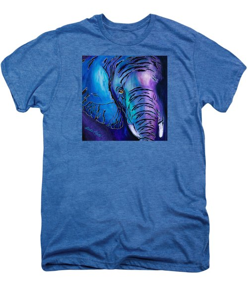 Purple Elephant Men's Premium T-Shirt