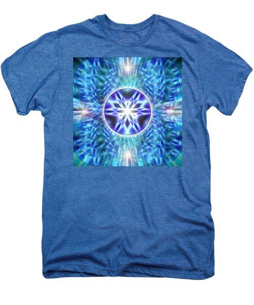 Spiral Compassion Men's Premium T-Shirt by Derek Gedney
