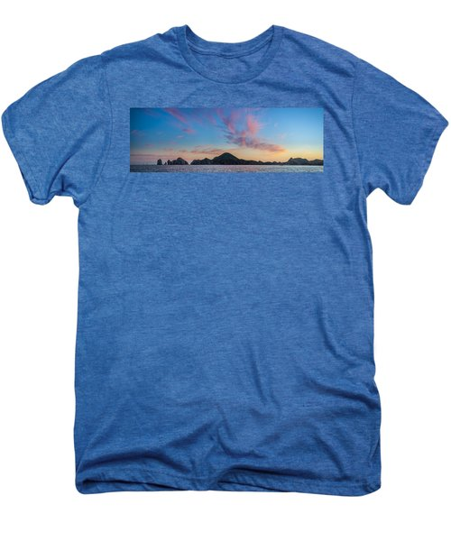 Men's Premium T-Shirt featuring the photograph Sunset Over Cabo by Sebastian Musial