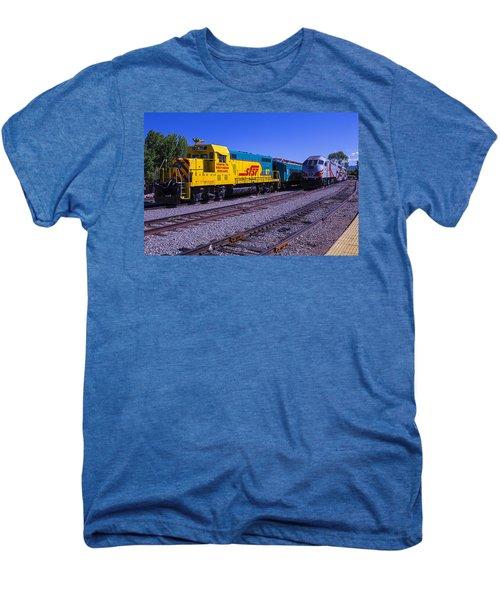 Two Trains Men's Premium T-Shirt