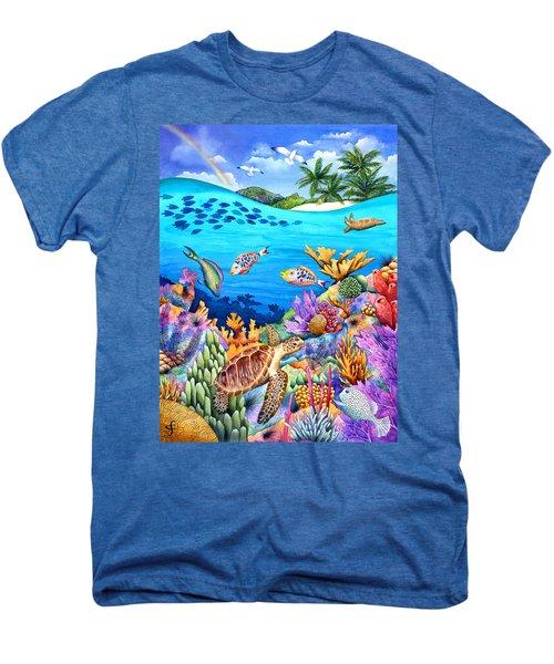 Under The Rainbow Men's Premium T-Shirt