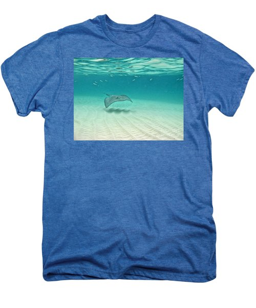 Underwater Flight Men's Premium T-Shirt by Peggy Hughes