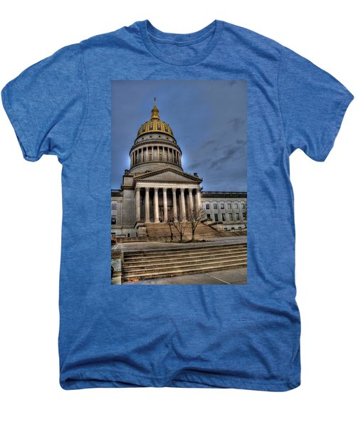 Wv Capital Building 2 Men's Premium T-Shirt