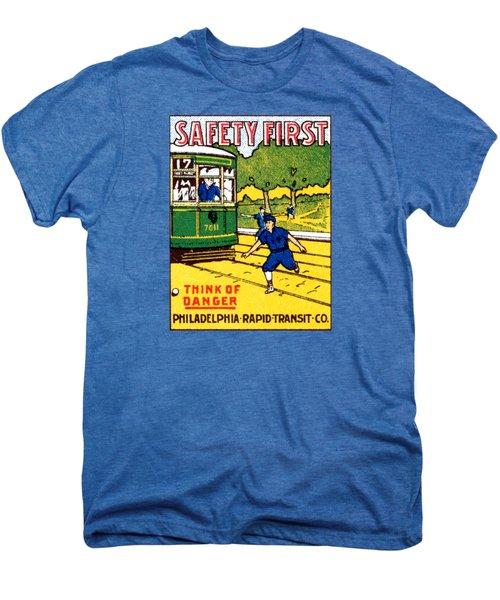 1915 Safety First In Philadelphia Men's Premium T-Shirt
