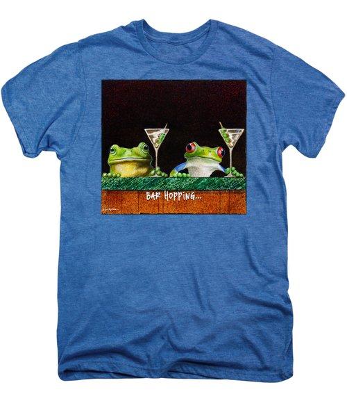 Bar Hopping... Men's Premium T-Shirt