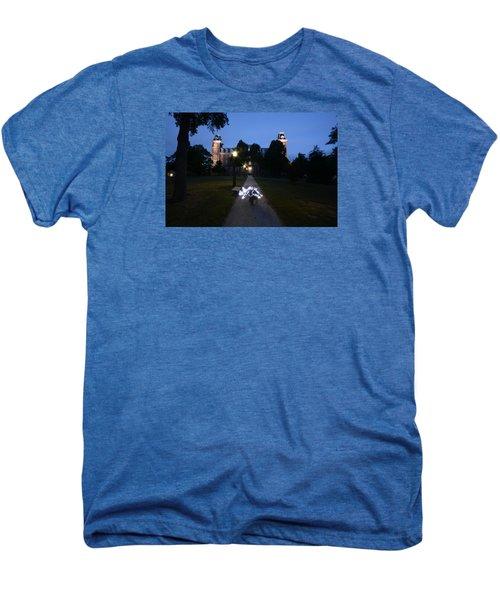 University Of Arkansas Men's Premium T-Shirt by Chris  Look