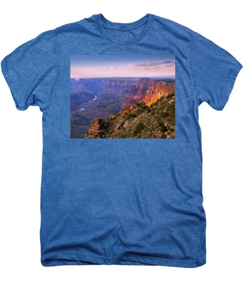 Canyon Glow Men's Premium T-Shirt by Mikes Nature