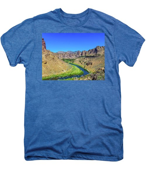 A River Runs Through Men's Premium T-Shirt