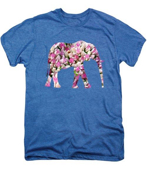Abstract Sedum Men's Premium T-Shirt by Christina Rollo