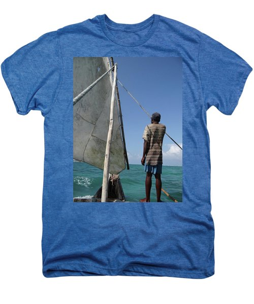 Afternoon Sailing In Africa Men's Premium T-Shirt