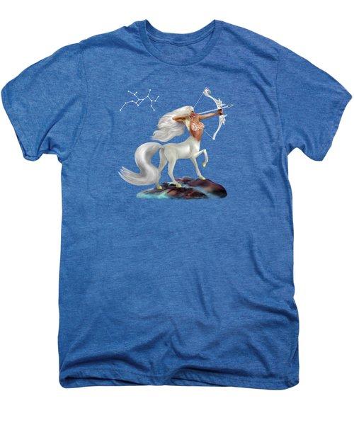 Mystical Sagittarius Men's Premium T-Shirt by Glenn Holbrook