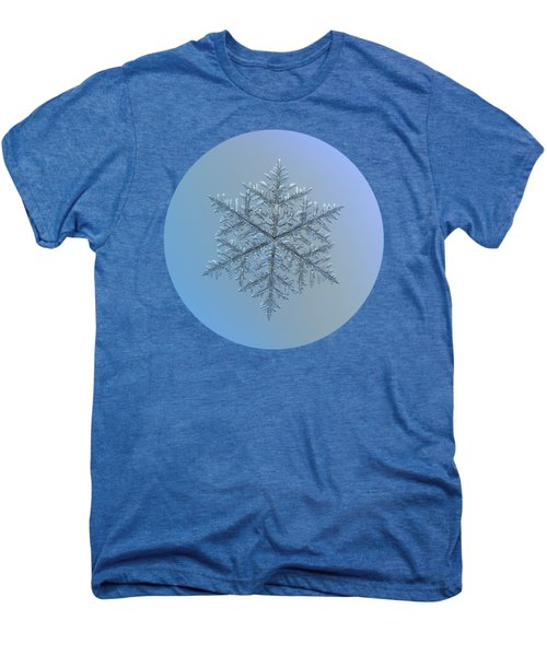 Snowflake Photo - Majestic Crystal Men's Premium T-Shirt
