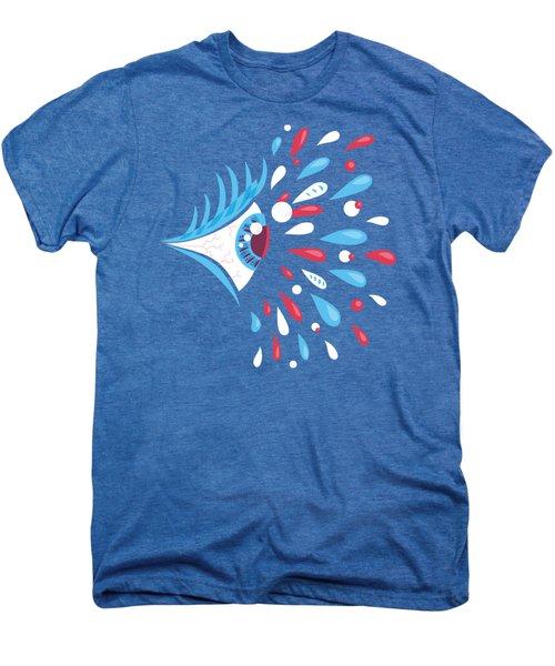 Psychedelic Eye Men's Premium T-Shirt