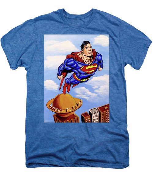 Superman Men's Premium T-Shirt