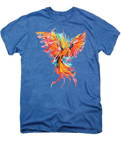 Phoenix Men's Premium T-Shirt by Adriano Diana