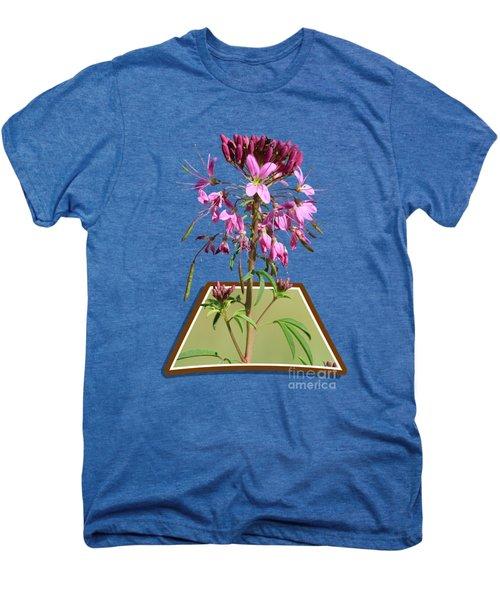 Rocky Mountain Bee Plant Men's Premium T-Shirt