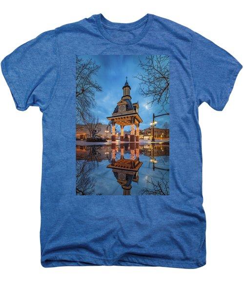 Bell Tower  In Beaver  Men's Premium T-Shirt