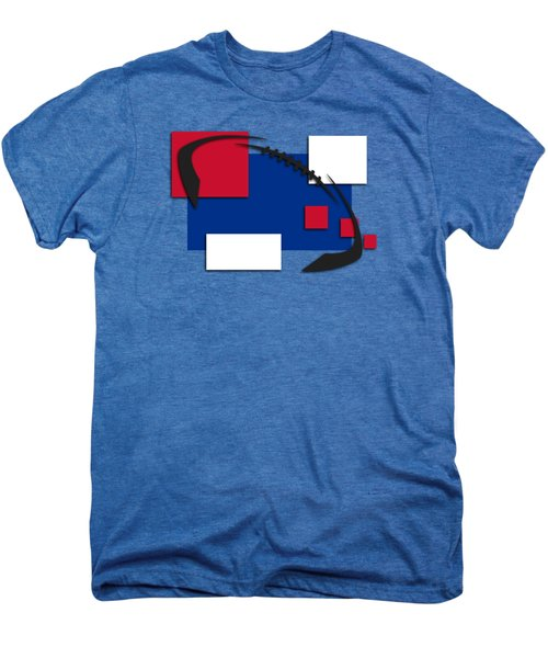Bills Abstract Shirt Men's Premium T-Shirt by Joe Hamilton
