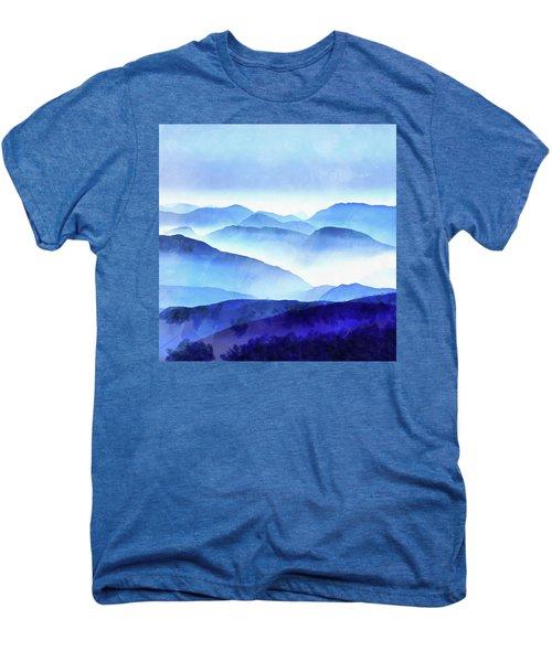 Blue Ridge Mountains Men's Premium T-Shirt
