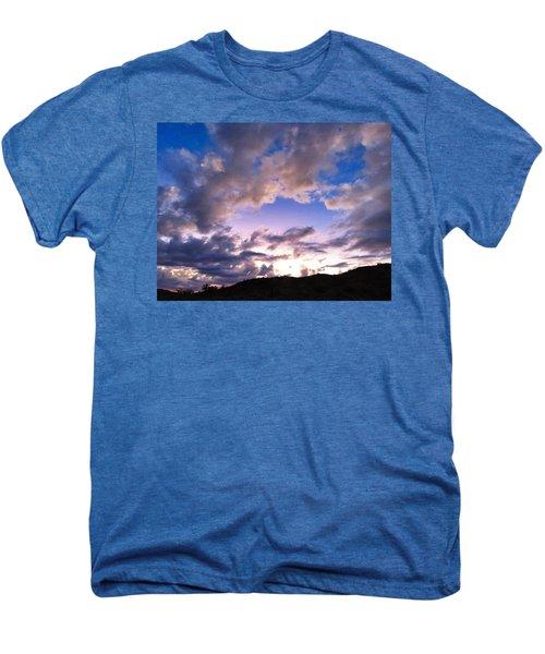 Blue Sunset Men's Premium T-Shirt