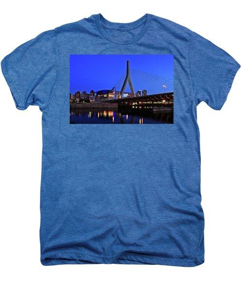 Boston Garden And Zakim Bridge Men's Premium T-Shirt