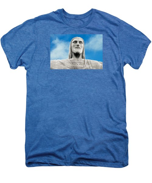 Brazilian Christ Men's Premium T-Shirt by Kim Wilson