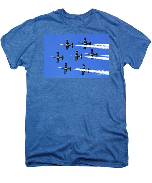 Breitling Air Display Team L-39 Albatross Men's Premium T-Shirt by Nir Ben-Yosef