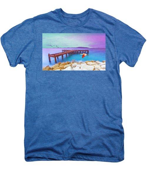 Brown Dock Men's Premium T-Shirt