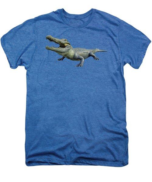 Bull Gator Transparent For T Shirts Men's Premium T-Shirt
