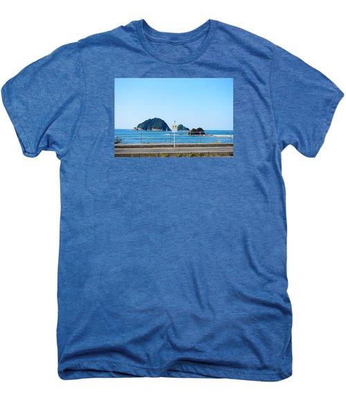 Bus Station Men's Premium T-Shirt