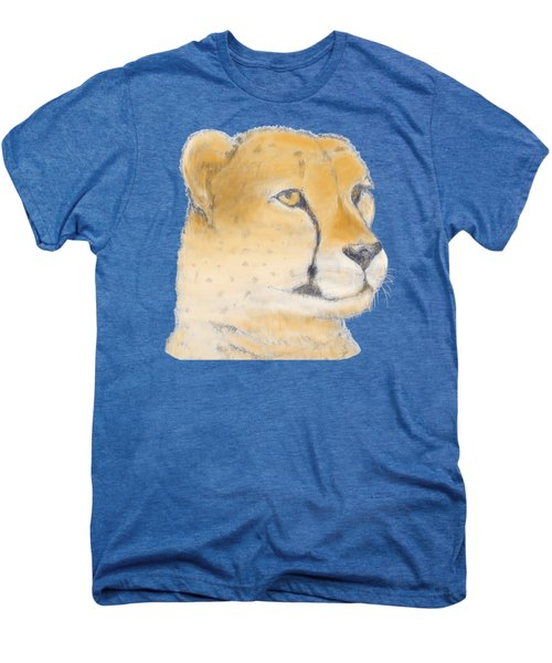 Cheetah 3 Men's Premium T-Shirt by Gilbert Pennison